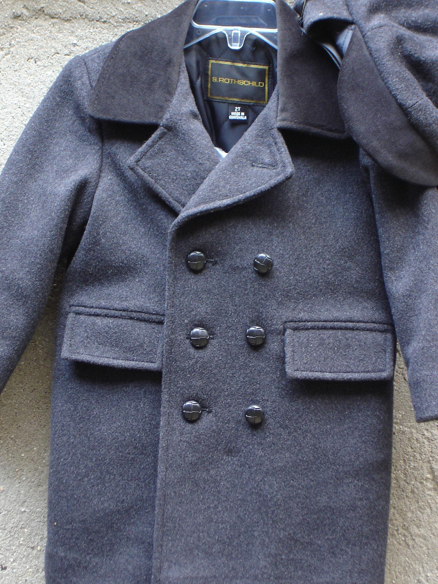 Fresh Fine boys wool coats KL73
