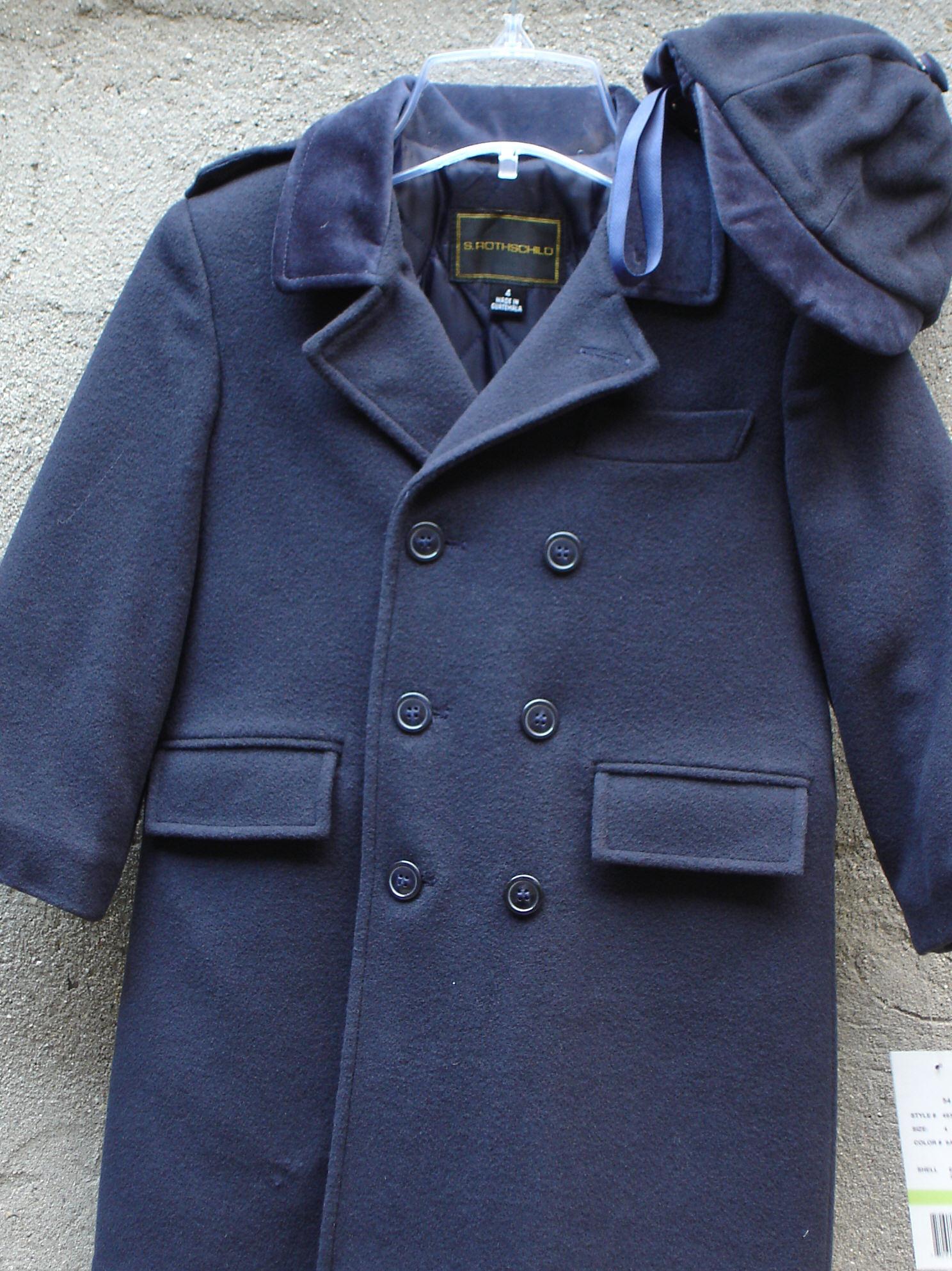 Well-liked Fine boys wool coats PK12